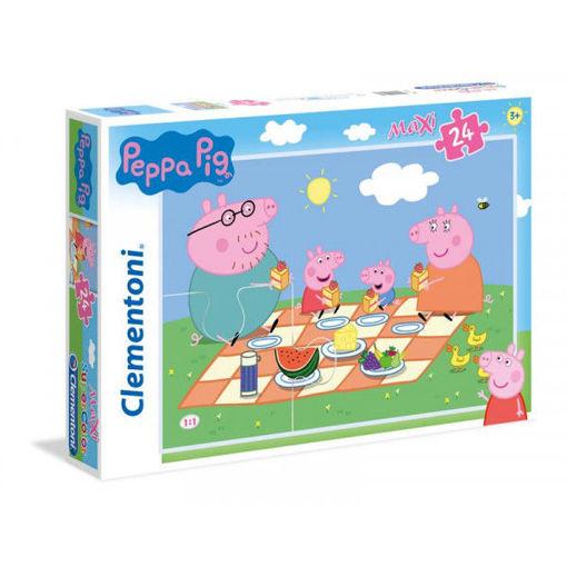 Puzzle 24 Maxi Supercolor Peppa Pig