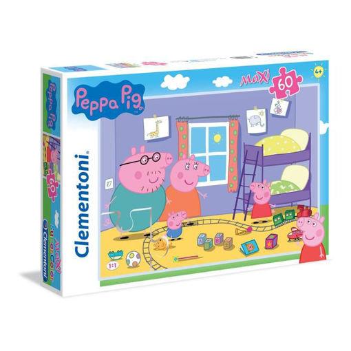 Puzzle 60 Maxi Supercolor Peppa Pig