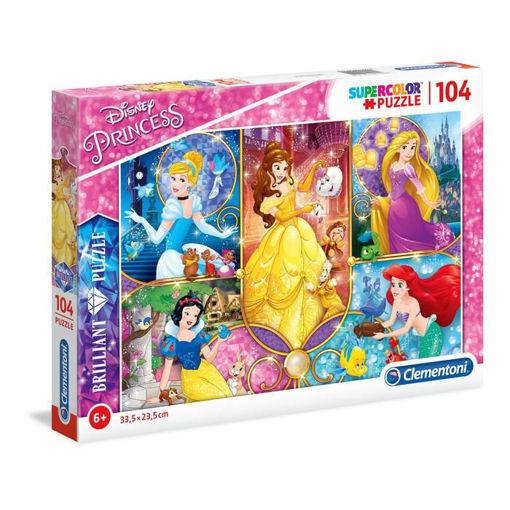 Puzzle 104 Supercolor Principesse Disney