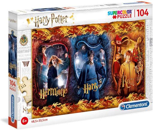 Puzzle 104 Supercolor Harry Potter