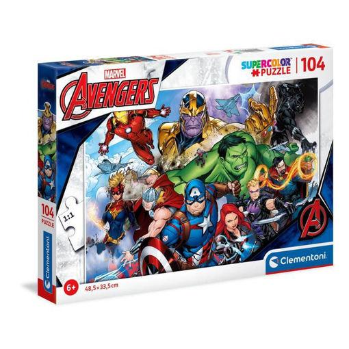 Puzzle 104 Supercolor Marvel Avengers