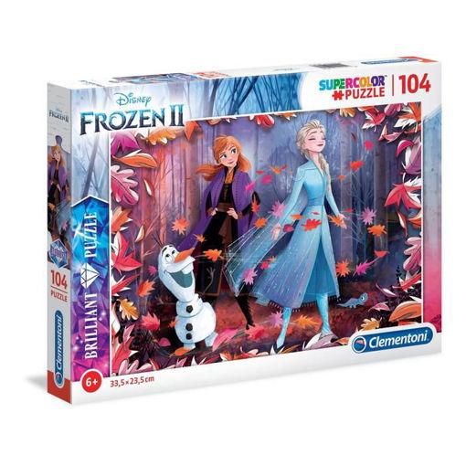 Puzzle 104 Supercolor Frozen 2