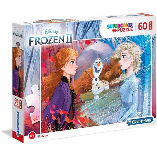 Puzzle 60 Maxi Supercolor Frozen 2