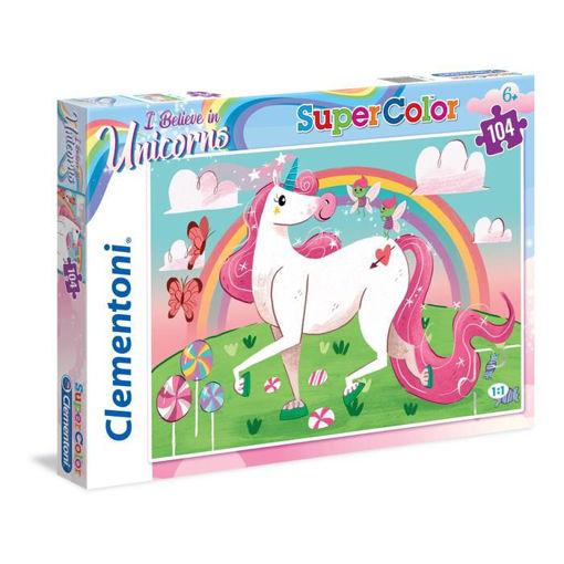 Puzzle 104 Supercolor Unicorno