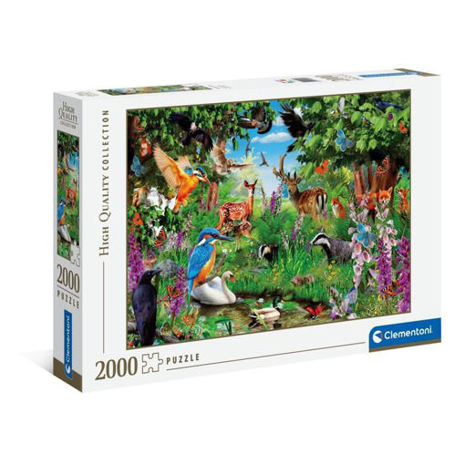 Puzzle 2000 High Quality Collection Foresta Fantastica