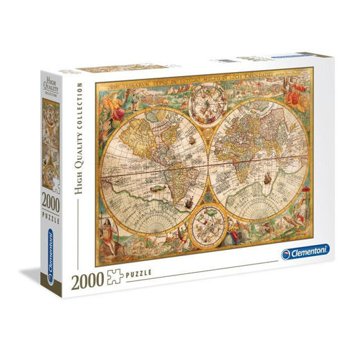 Puzzle 2000 High Quality Collection Mappe Antiche