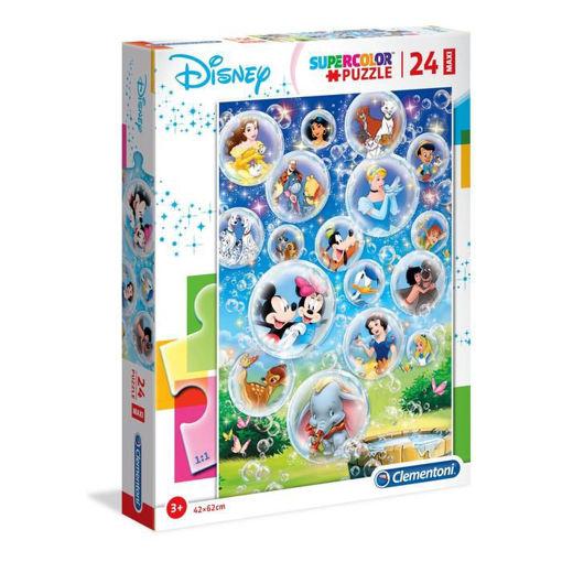 Puzzle 24 Maxi Supercolor Disney