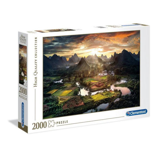 Puzzle 2000 High Quality Collection View of China