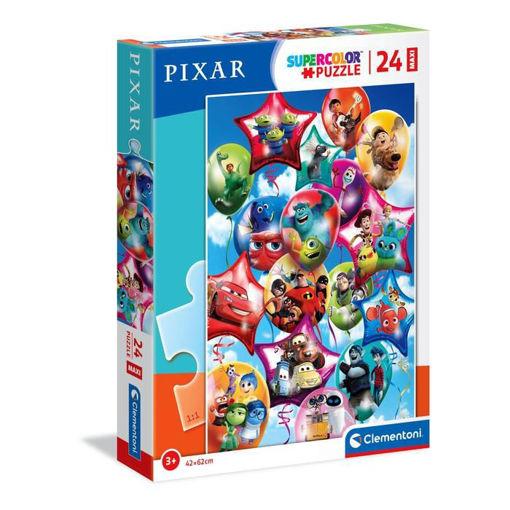 Puzzle 24 Maxi Supercolor Pixar