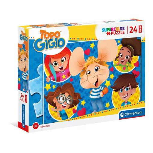 Puzzle 24 Maxi Supercolor Topo Gigio