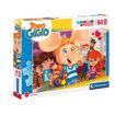 Puzzle 60 Maxi Supercolor Topo Gigio