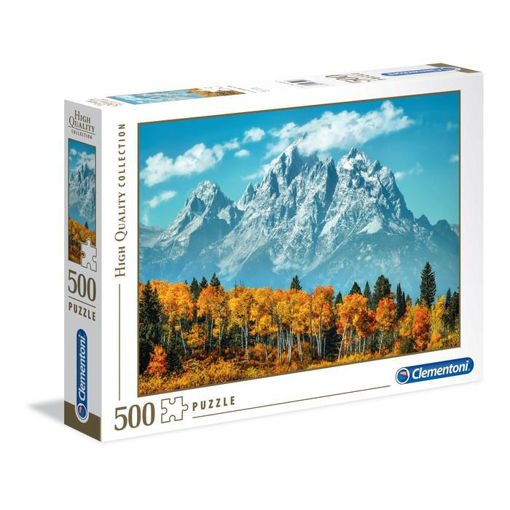 Puzzle 500 High Quality Collection Grand Teton in Fall