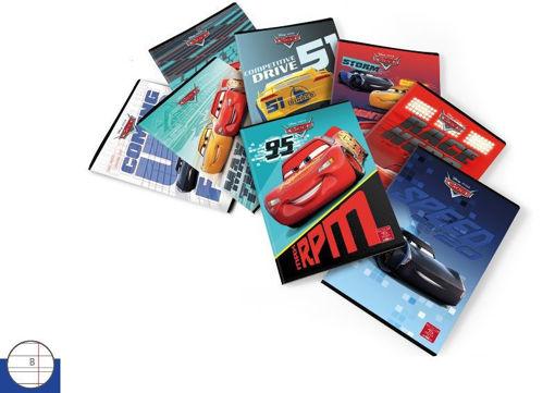 Maxi Quaderno Cars rigo B