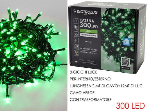 300 luci Led da esterno Verde programmabili