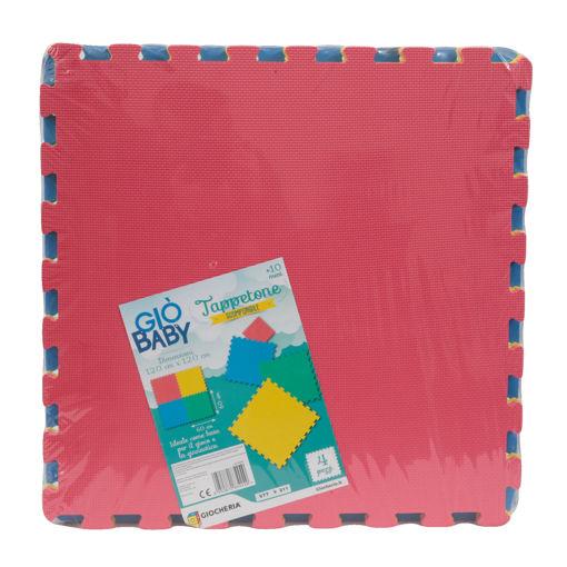 GIO' BABY - Tappetone Scomponibile 4 pezzi 60x60cm