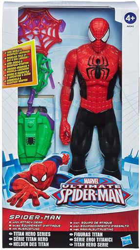Personaggio 30 cm Spiderman con accessori