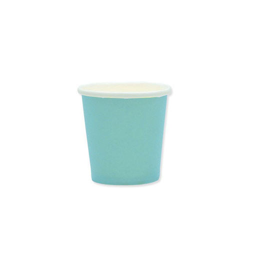 Bicchieri in Carta Ecolor 80 cc Tiffany 25 pezzi