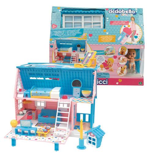 Cicciobello Amicicci Playset la Casa Trolley