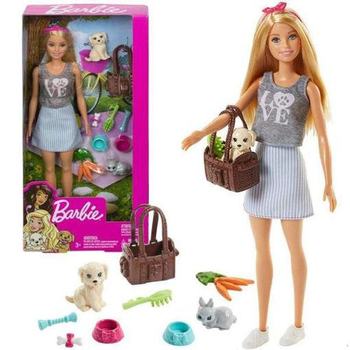 Barbie con cagnolino