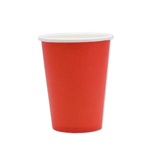 Bicchieri in carta 200 cc Rosso 20 pezzi