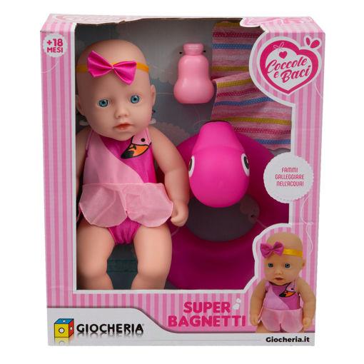 Bambola Super Bagnetti con salvagente