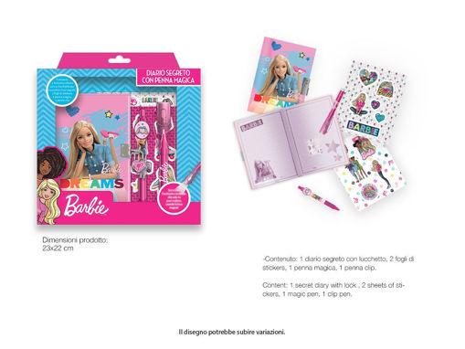 Diario Segreto Barbie con penna magica