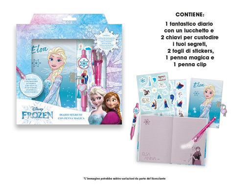 Diario Segreto Frozen con penna magica