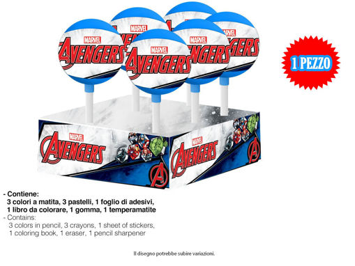 Lollipop Cancelleria Avengers