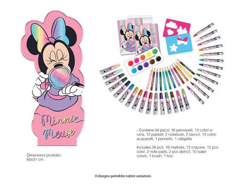 Maxi Set Sagomato Minnie con colori e accessori