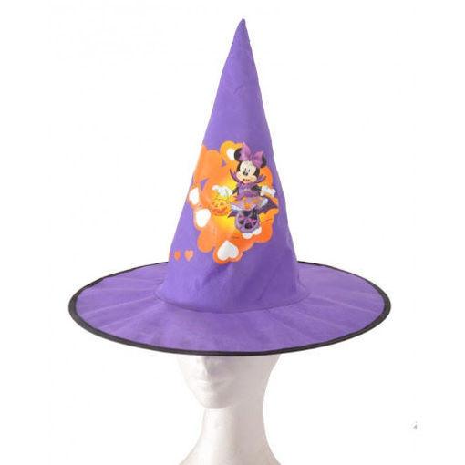 Cappello Strega in tessuto Mickey e Minnie Halloween