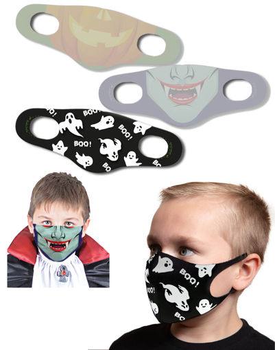 Mascherina protettiva Bambino Halloween Boo