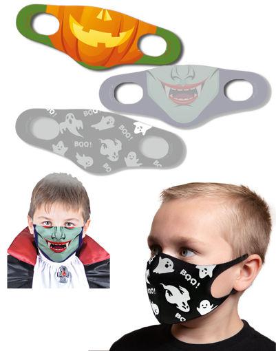 Mascherina protettiva Bambino Halloween Zucca