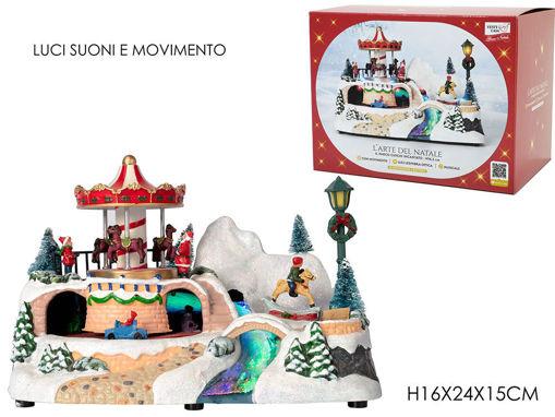 Ambientazione Villaggio di Natale Luna Park