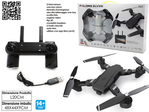 Drone Radiocomandato Folding Elves