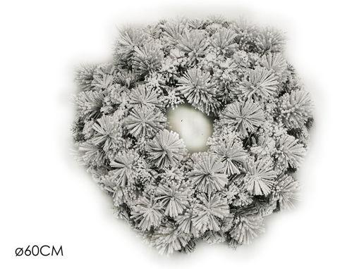 Ghirlanda Innevata diametro 60 cm