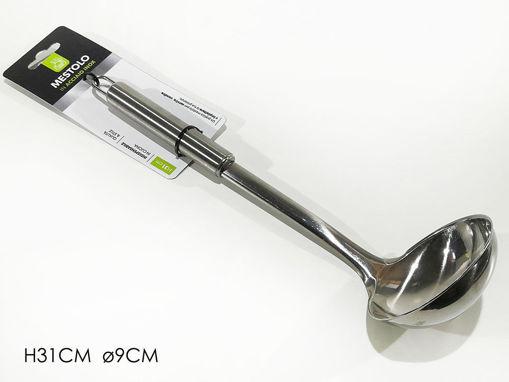 Mestolo in acciaio diametro 9 cm