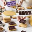 Set stampo per gallette al cioccolato